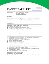 ... mortgage underwriter resume summary ...