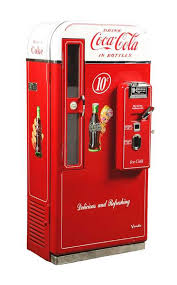 Vendo Vending Machine Delectable 48¢ Vendo H48B CocaCola Vending Machine