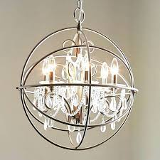 globe chandelier lighting collection 6 light artisan