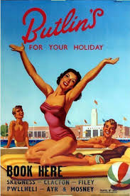 Advertising Posters Vintage Butlins Holiday Camps Advertising Poster A3 Print 291586202918