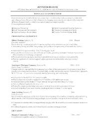 Resume Template Entry Level Magnificent Mortgage Loan Officer Resume Resume Examples Mortgage Loan Officer