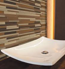 Backsplash Bathroom Ideas Cool Creative Ideas For Bathroom Backsplashes