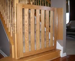 Gate For Stairs Wood Baby Gates For Stairs