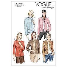 Vogue Pattern Inspiration Vogue Patterns V48 Size D 484848 Misses' Petite Jacket Amazon