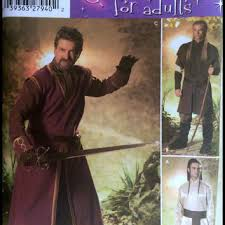 Medieval Tunic Pattern Simple Simplicity Costume Sewing Pattern 48 From Adele Bee Ann Sewing