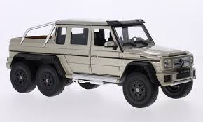 Buy Welly Mercedes AMG G63 6x6 Pickup Truck 1/24 Scale Diecast Model ...