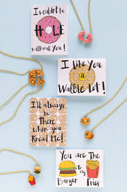 diy food friendship necklaces