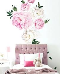 peony wall decals gallery flower wall decals peony wall decals canada