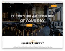 restaurant table layout templates 25 best free restaurant website templates 2019 colorlib