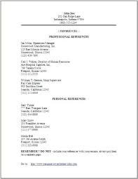 Resume With References References Page Resume Resume Examples References 2 Reference Page ...