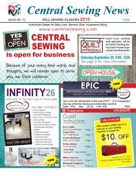 Central Sewing Machines