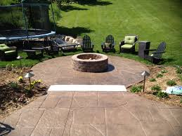 stamped concrete patio with fireplace. Stamped Concrete Patio With Fire Pit Fireplace S