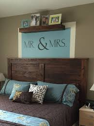 King size wood headboard Headboard Ideas Reclaimed Wood King Headboard Just Slightly Adapted From Httpana Pinterest Pin By Brad Baker On Home In 2019 Bedroom Wood Headboard Master