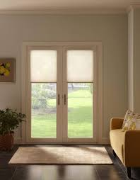 window treatments for doors with half glass unique cellular shades also called honey b shades remain