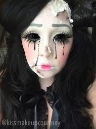 creep y doll makeup more
