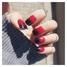 Uñas postizas decoradas diseños de uñas postizas manicura para uñas cortas manicura de uñas uñas acrilicas blancas uñas acrílicas brillantes uñas acrílicas simples uñas 15 diseños de uñas de mariposa perfectas para el otoño. Unas Rojas Con Negro Les Traigo Mi Nuevo Set De Unas Acrilicas Rojas Con Negro Para Ano Nuevo Lavagen