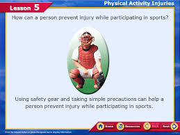 Physical Activity Injuries Ppt Video Online Download