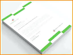 Free Sample Letterhead Template Word Publisher Corporate Business ...