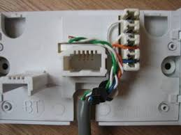 guide to rewiring internal uk phone wiring note at the bottom i have pulled the cable tie further around look at the picture of the complete nte5 unit to see why