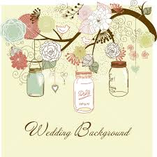 Hanging Mason Jars Floral Summer Background Mason Jars Hanging From The Brunch Stock