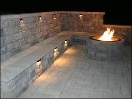 paver patio with fire pit.  Fire Industrial Interlocking Paver Lot  And Paver Patio With Fire Pit