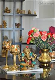 Small Picture like this look with ganesha and hanging lamps Decor Pinterest