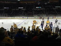 Providence Bruins Arena Seating Chart View From Sec 122 Row A Seat 13 Picture Of Dunkin