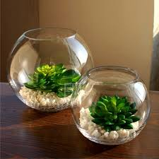 Glass Bowl Decoration Ideas crystal home decorations flowerpotcrystalfishtankhome 10