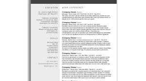 Free Modern Resume Templates For Microsoft Word Topgamersxyz
