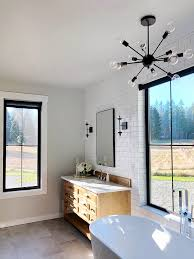 sherwin williams agreeable gray with white subway tile and grey floor tile sherwin williams agreeable gray