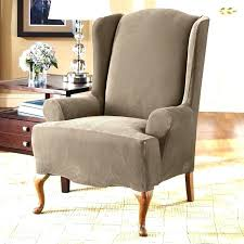 small club chair club chair covers small wing chair slipcovers sure fit wing chair covers home