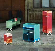 office storage units. View In Gallery. This Office Collection Features Colorful And Practical Storage Units Specifically