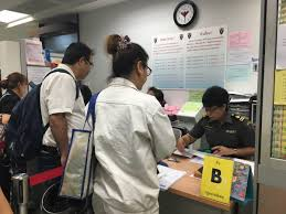 immigration form asks bank social media details we definitely need them to fill in as much information as they can said the immigration bureau s phurita ruangpankaew at the one stop service center for