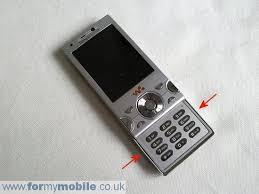 sony ericsson slide phone. sony ericsson w995 disassembly stage 2 slide phone