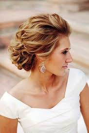 Hairstyle Short Hair Wedding Styles Mother The Bride Braid Curly