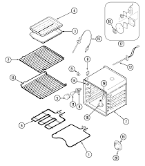 jenn air parts. w30400bc electric wall oven parts diagram jenn air