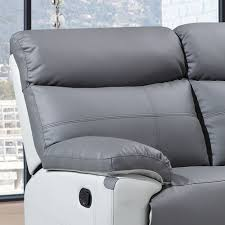 grey leather recliner. Grey Leather Recliner N