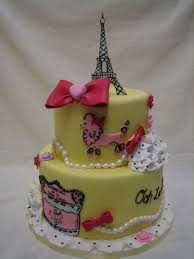 Designer Cakes By Amy Amy Beck Cake Design Chicago Il Parisian Pooch Birthday