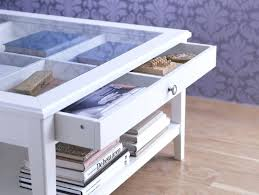 display top coffee table glass display coffee table with drawer glass top display coffee table ikea