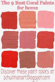 Coral Paint Color Best Colors