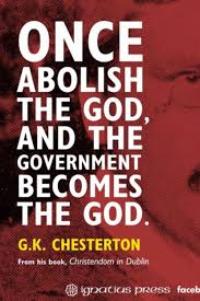 best catholic writer g k chesterton images  g k chesterton on the abolishment of god in government