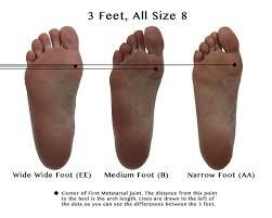 Healthy Feet Com Sizing Charts Shoe Width Chart Wiivv