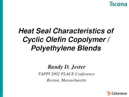 Heat Seal Characteristics Of Coc Pe Blends