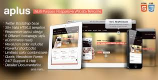 Html5 Website Templates Classy APLUS Multi Purpose HTML28 Website Template By Designingmedia