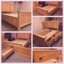 full size storage bed plans. Diy Queen Size Bed Frame Plans New Full Or Storage Full Size Storage Bed Plans S
