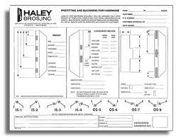 Commercial Door Handing Chart T M Cobb Forms T M Cobb