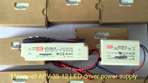 meanwell apv 35 12 led driver power supply kutop com youtube Mean Well Lpv 60 12 Wiring Diagram meanwell apv 35 12 led driver power supply kutop com