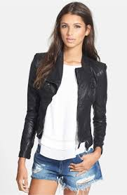 main image blanknyc faux leather jacket size small