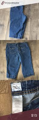 Jms Jeans Size Chart Plus Size Capris Very Loved Jms Capris Stretchy Jean