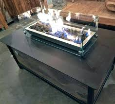 fire pit table wind guard glass guards flame creation square transpa